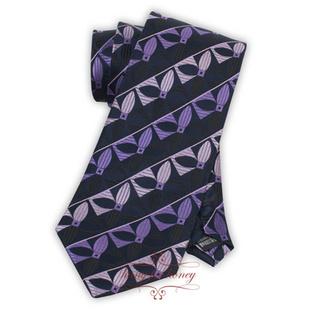 领带 紫色