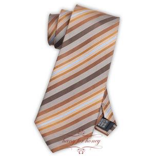 领带 浪漫棕