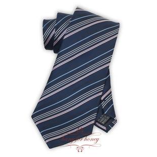 领带 时尚彩条