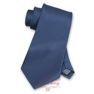 领带 典雅深蓝