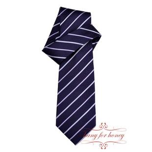 领带 尊贵紫