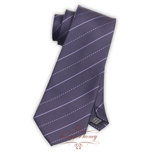 领带 尊贵深紫