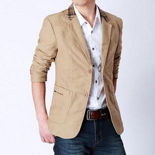 2013年秋款奢华男装小西服薄外套韩版休闲男士西装修身秋装潮衣服