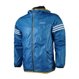 阿迪达斯adidas男子训练运动服男装夹克W54076