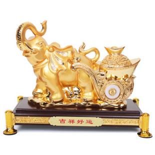 树脂大象摆件大号招财大象工艺品家居风水摆设开业礼品吉祥好运
