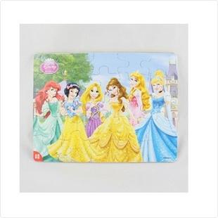 拼图 可爱卡通公主图案古部拼图儿童益智玩具25片 36DF156 1 51比