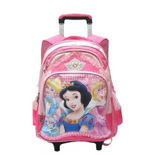 barbie芭比公主女童小学生拉杆书包女双肩背包可拆卸图片