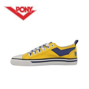 波尼帆布鞋