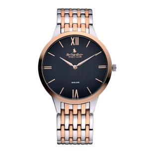 保罗(polo)超薄男士手表 大表盘防水商务手表 正品男装腕表 货到付款