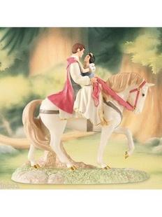 我要嫁白马王子高清_lenox 中性陶瓷白雪公主和白马王子马上雕像(美国直发)