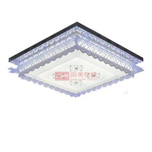 客厅 雷士-雷士照明新款LED吸顶灯水晶客厅灯 现代时尚简约NVX2479(6*9...