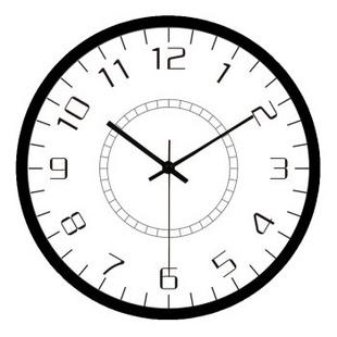 客厅现代挂钟钟表欧式