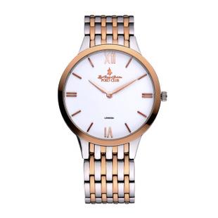 保罗polo男士手表 正品大表盘男式石英腕表 男款名表watch 防水超薄商