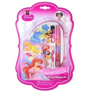 上海玩具�y���d�Z�{�_迪士尼多姿公主化妆盒21660d 儿童彩妆女孩玩具生日礼物