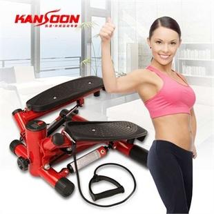 凯速红玫瑰带拉绳多功能液压踏步机 健身 美腰机 静音设计 送地垫图片