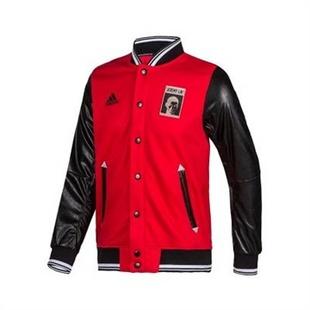 阿迪达斯adidas男式梭织夹克 d81997