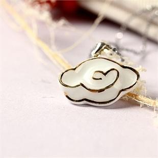 五彩祥云 手绘彩金陶瓷锁骨链 创意礼品 生日礼物 送朋友 送同事