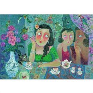 艺客 装饰画 齐白石 葫芦牵牛花 传统国画 包邮 63