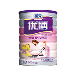 圣元优博婴儿配方奶粉1段 400g 900g