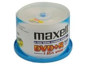麦克赛尔 16X DVD+R光盘(桶装50p)