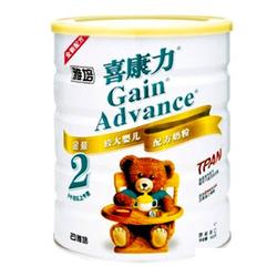 雅培喜康力较大婴儿配方奶粉2段 400g 900g