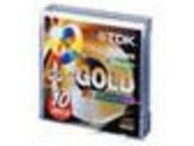 TDK CD-R光盘10片装(黄金盘)
