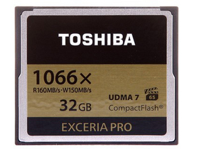 东芝 EXCERIA Pro CF(32G)
