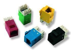安普 超五类110系列非屏蔽模块
