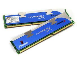 金士顿 DDR3 1600 8G骇客神条套装(KHX1600C9D3K2/8GX)