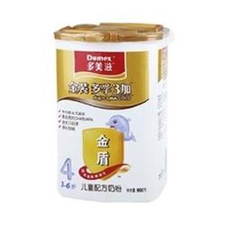 多美滋Dumex金装多学3加儿童配方奶粉4段 900g