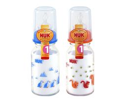 NUK120ml耐高温玻璃彩色奶瓶