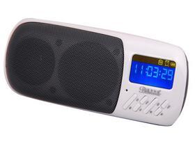 蓝色妖姬(BLUELOVER) Q8 丽音谷 多功能数码插卡音箱 同步歌显示迷你小音箱 斗牛红