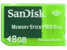 SanDisk Gaming Memory Stick PRO Duo(8GB)