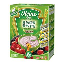 亨氏Heinz黑米红枣营养米粉 225g
