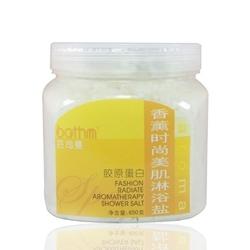 芭司曼bathm香薰时尚美肌淋浴盐(胶原蛋白) 650g