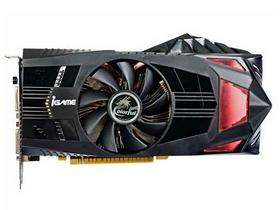 七彩虹(Colorful) iGame550Ti 烈焰战神U D5 1024M 950/4300MHz 1024M/192位 DDR5 PCI-E显卡