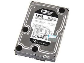 西部数据 1TB SATA3 64M(WD1002FAEX)/黑盘