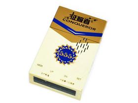 征服者 555 香烟盒造型 触摸式按键 固定流动全功能电子狗