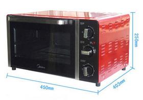 美的MG25NK-ARR电烤箱
