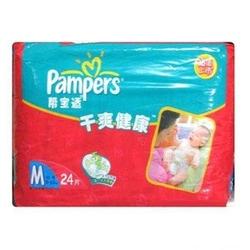 帮宝适Pampers干爽健康纸尿裤M24片 M24片