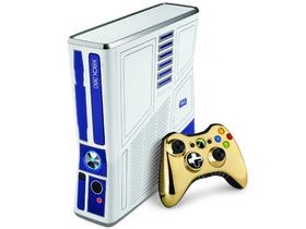 微软 XBOX360 星战特别版(配金色手柄)