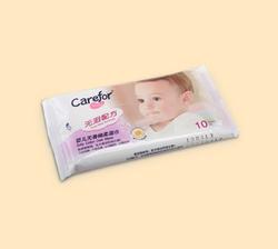 爱护Carefor婴儿无香棉柔湿巾 10片