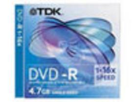 TDK DVD-R光盘10片装(16速)