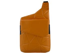黑贝壳 吉他款斜跨包13寸星空纹 日出橙