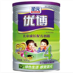 圣元优博儿童成长配方奶粉4段 400g 900g
