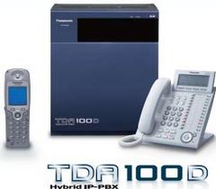 松下 KX-TDA100D 16外线4数字128分机