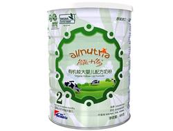 澳优Ausnutria能力多有机较大婴幼儿配方奶粉 800g