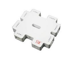 SSK飚王 积木七口USB HUB SHU011