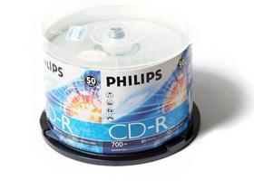 飞利浦 CD-R 52X(50片包装)