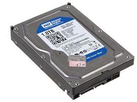 西部数据 1TB SATA3 64M(WD10EZEX)单碟/蓝盘
